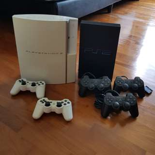 PS1, 2 Games and PS2, 3 Consoles (Please see comments for status)