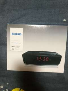 Brand New Philips Digital tuning clock radio