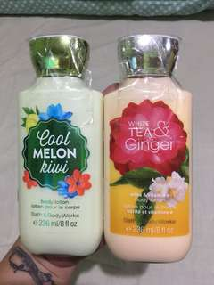 Brandnew bath & body lotion 500 each