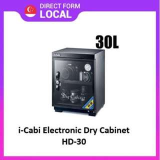 Brand New i-Cabi 30L electronics dry cabinet HD-30(sealed)
