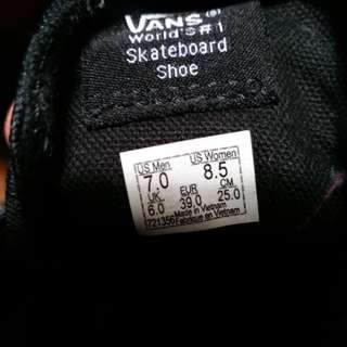 Vans jungle jacquard sz 7 , second 98% very very good condition