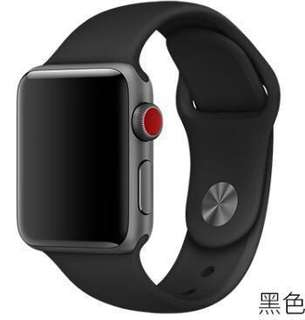 Apple watch strap矽膠款表帶 (官方款式)