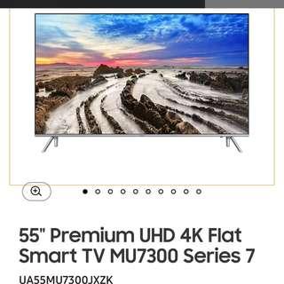 Samsung 55MU7300 4k UHD