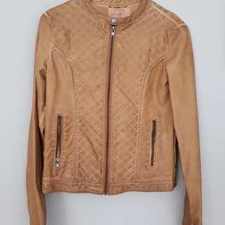 Jaket kulit PULL & BEAR