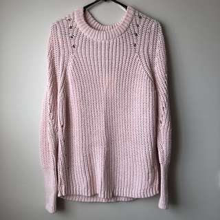*BNWT* Witchery Light Pink Knit