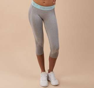Gymshark CROPPED size small flex leggings