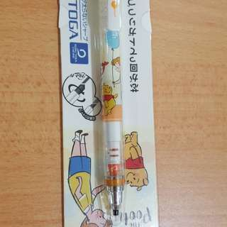 Kuru toga winnie the pooh mechanical pencil 0.5mm