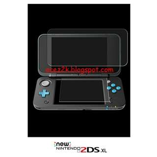 """[BN] """"new"""" 2DS XL / LL Screen Protector (Brand New)"""