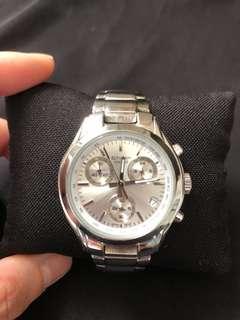 Sheen Casio ladies chronograph watch