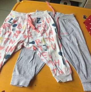 Miki Baby Pants 2 pcs 6-12m