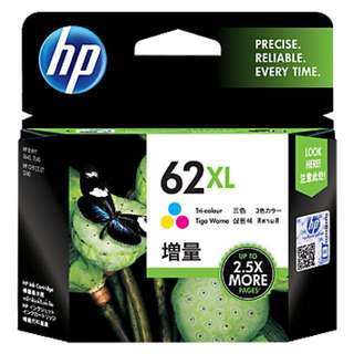Brand New HP 62XL High Yield Tri-color Original Ink Cartridge (C2P07AA)