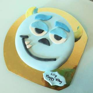 怪獸大學蛋糕