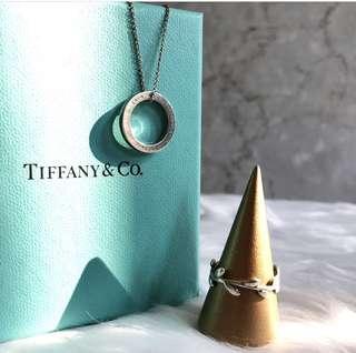 Tiffany 3折一套頸鏈介子