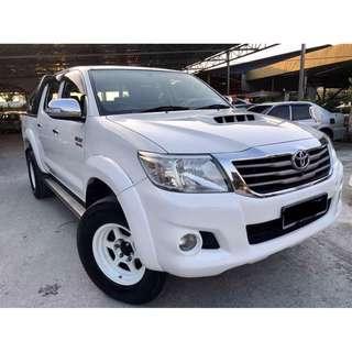 2014 Toyota Hilux 3.0 (A) D-4D VNT 4X4 FULL SPEC