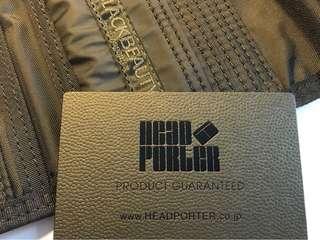 全新 Japan head porter blackbeauty wallet