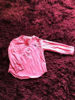 Miki girl blouse