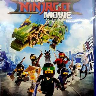 THE LEGO NINJAGO MOVIE BLURAY