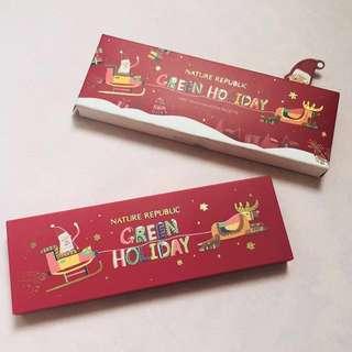 全新❤️Nature Republic🎄聖誕限量眼影盒👁✨ #超取再七折