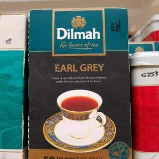 Dilmah earl grey茶包