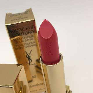 YSL Rouge Pur Couture Lipstick (52 Rouge Rose)