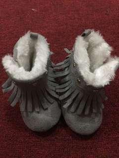 Primark gray boots