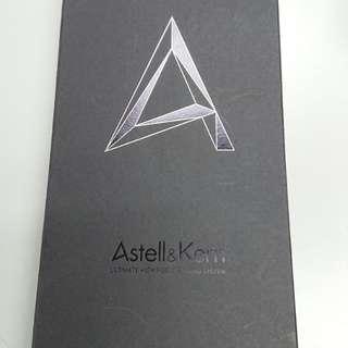 Ak jr /Astell & kern Sleek Sliver 連盒有單保護貼已過保
