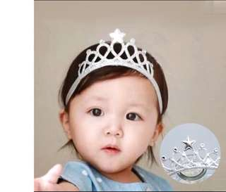 Star Crown Baby Headband