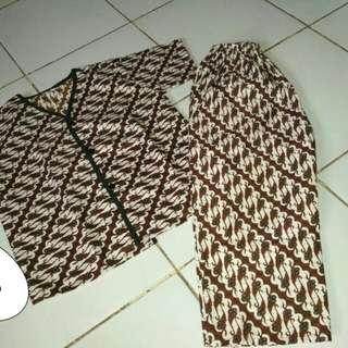 #momratu Baju tidur batik