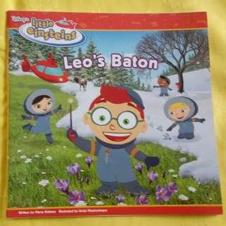 Buku Anak Little Einstein English Preloved