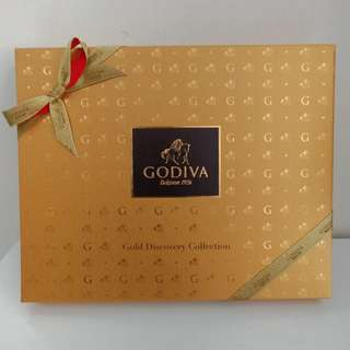 Godiva gold discovery collecrion