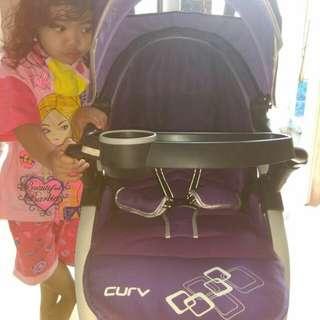 Stoller babyELLE Curv purple