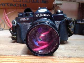 YASHICA Vintage Camera Nice Display