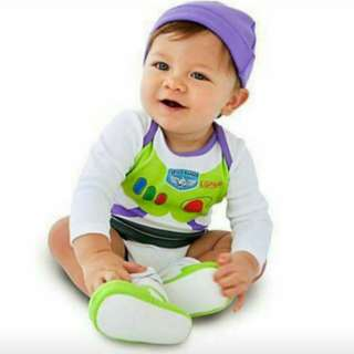 Buzz Light Romper with Hat