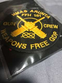 foreign military patches