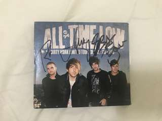 Dirty Work - All Time Low signed album