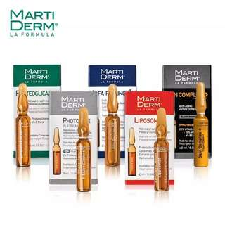 BNIB ASSORTED MARTIDERM AMPOULES