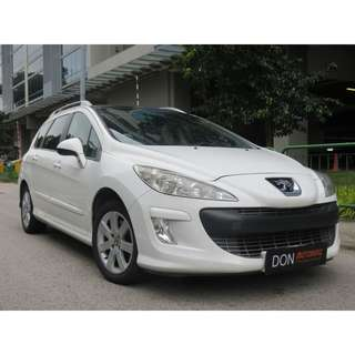 Peugeot 308 SW 1.6 Auto Turbo Glass Roof