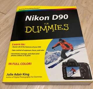 Nikon D90 help / guidebook