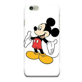 Mickey Mouse iPhone 6 Plus - 6s Plus Custom Hard Case