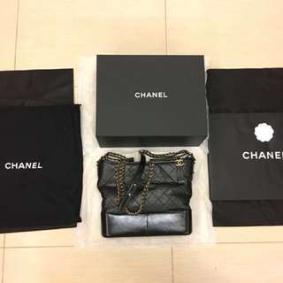 Chanel Gabrielle bag BLACK LARGE size