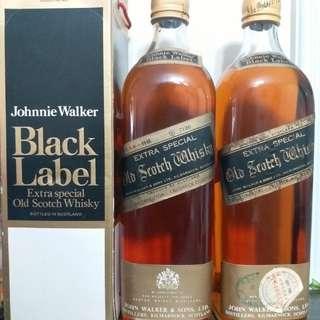 7O年代全金 Johnnie walker Black label 700ml