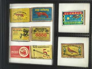 Vintage Match Box Labels for sale