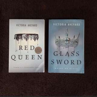 Red Queen Series (International Version Book 1 and 2) by Victoria Aveyard