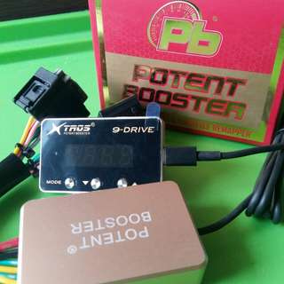 Potent Booster 9-drive Power Booster