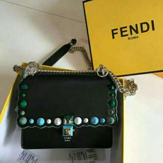 FENDI BAG MIRROR ORI LEATHER