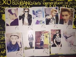 EXO Kris photocard #bajet20