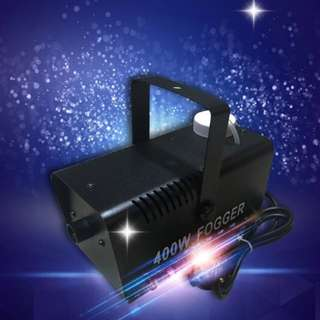 400W Fogger Remote DJ Disco Party Smoke Mist Fog Effect Mountable Party Fog Machine - with remote controller wire & Wirless ( RENT / SALE)