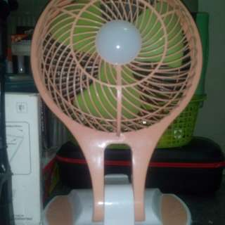LED FAN chargeable