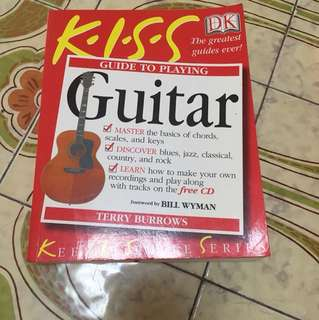 Keep It Simple Guide Book for Learning Guitar