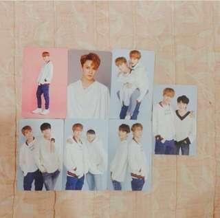 Seventeen Vernon photocard combo set